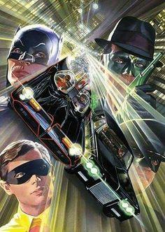 Batmans batmobile vs the green hornets black beauty who would win