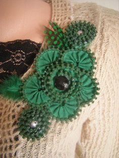 Flowering Brooch.