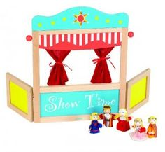 how to make a finger puppet theatre