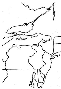 Map of the Mohawk Trail