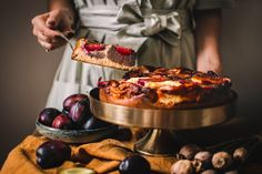 Švestkový koláč s mákem a tvarohem • CukrFree.cz Keto Bread, Nutella, French Toast, Low Carb, Sweets, Breakfast, Ethnic Recipes, Food, Yum Yum