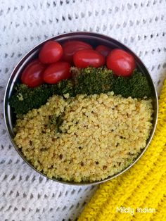 Quinoa with a spicy lemon mix made in a south indian style is a perfect one for the lunch box. Zesty lemon and protein rich quinoa make a fabulous combination Lemon Rice, Rice Recipes, Vegetarian Recipes, Fresh Turmeric, Cooking Challenge, Grain Foods, South Indian Food, Recipes, Salads