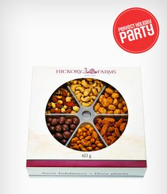 No holiday celebration is complete without a few handfuls of festive nuts!