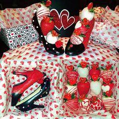 Birthday/Valentines Day Berries!! Contact me!! NikkiEtreats@gmail.com #NikkiEtreats #NikkiEtreats #InfusedStrawberries #blingberries #ChocolateHighHeel #chocolatecoveredstrawberries #chocolatestrawberries #chocolatestrawberry #chocolate #strawberry #infusedstrawberries #InfusedStrawberries #infused #chocolateheels #highheels #highheelshoes #chocolatehighheel #chocolatehighheels #chocolatehighheelshoes #chocolatehighheelshoe Chocolate Art, Chocolate Covered Oreos, Chocolate Gifts, Valentines Day Treats, Funny Valentine, Valentine Gifts, Chocolate Strawberries, Chocolate Covered Strawberries, Monogram Cupcakes