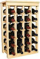 How to Build a Wine Cellar Rack thumbnail
