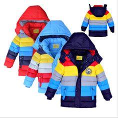 $58.00 (Buy here: https://alitems.com/g/1e8d114494ebda23ff8b16525dc3e8/?i=5&ulp=https%3A%2F%2Fwww.aliexpress.com%2Fitem%2FHot-Sell-High-quality-2015-Korean-fashion-Boys-Blue-strip-winter-coats-Jacket-kids-Casual-jackets%2F32357097525.html ) High quality 2016 Kids strip winter coats&Jacket,Baby Boys Winter Outwear kids Casual jackets Baby Boys&Girls Winter jacket for just $58.00