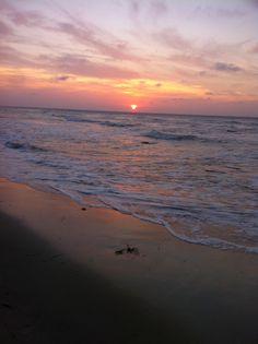 Sonnenuntergang vor Rügen
