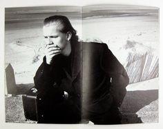 november-books: Peter Lindbergh - Comme Des Garcons Homme Plus no.3 (June 1986)