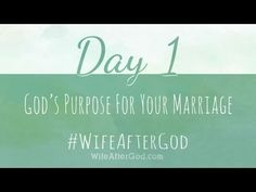 """Day 1: """"God's purpose for my marriage is to reveal His love to the world."""" #WifeAfterGod  Todays chapter focuses on how God's purpose motivates us to be better and how we were made to reflect His Image!   What are some ways we can reflect God better as wives?  https://www.facebook.com/unveiledwife/posts/673459242667896  -- Get Wife After God And Join In. http://www.amazon.com/dp/1481866885/unvewife-20"""