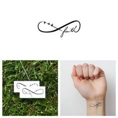 Tattify Faith Temporary Tattoo – Leap (Set of 2)