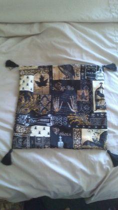Steampunk cushion cover