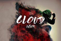 Cloud Photoshop Action by Freezerondigital on @creativemarket