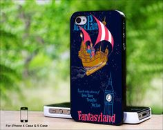 Case iphone 4 and 5 for Disney Peter Pan by EmmanuelJude on Etsy, $14.89