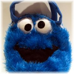 Cookie monster purse! Love it!