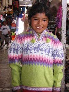 Grüner #Kinder #Pullover mit Alpakas aus #Peru, #Alpakawolle Inka, Peru, Graphic Sweatshirt, Sweatshirts, Sweaters, Fashion, Ponchos, Alpacas, Clothing