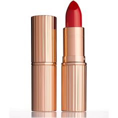 Charlotte Tilbury K.I.S.S.I.N.G Lipstick (495 ZAR) ❤ liked on Polyvore featuring beauty products, makeup, lip makeup, lipstick, lips, beauty, cosmetics, beauty color lipsticks, love bite and moisturizing lipstick