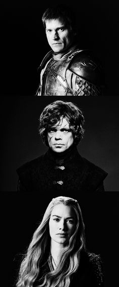 Jaime, Tyrion & Cersei Lannister ~ Game of Thrones Fan Art