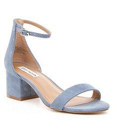 Schuhe Günstige Lange Navy Blau Chunky High Heel Overknee