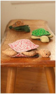 Peekaboo Plush Turtle | AllFreeSewing.com
