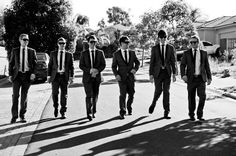 Groom and groomsmen. Photo by MM Photos.