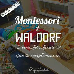 Hoy quiero darte unas pinceladas sobre el Método Waldorf , os cuento cómo una familia Montessori puede complementar el Método con mu...