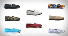 For every shoe bought, a pair goes to a child in need. And they ain't too shabby lookin either