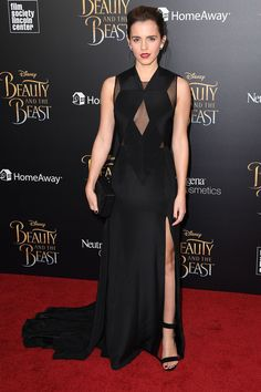 Emma Watson in Givenchy Haute Couture by Riccardo Tisci - 'Beauty And The Beast' Screening, New York - March 13, 2017
