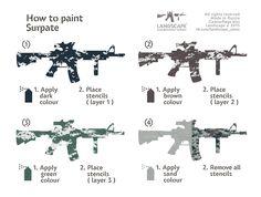 How to paint Surpat