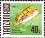 Tanzania 1967 Fish Fine Mint SG 147 Scott 24 Other Tanzania and British Commonwealth Stamps HERE!