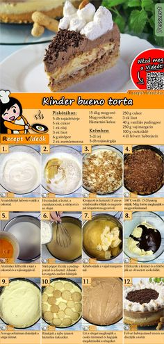 How about a children's Bueno cake? The Kinder-Bueno-Torte Recipe Video is easy to find with the help of the QR-Code :) bake How about a children's Bueno cake? The Kinder-Bueno-Torte Recipe Video is easy to find with the help of the QR-Code :) Delicious Cake Recipes, Yummy Cakes, Sweet Recipes, Yummy Food, Simple Recipes, Margarine Recipe, Pie Dessert, Dessert Recipes, Torte Recipe