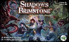 Shadows of Brimstone: Swamps of Death is a fast-paced, fully cooperative, dungeon-crawl board game set in the Old West, with a heavy dose of unspeakable horror! Players create characters, taking on th