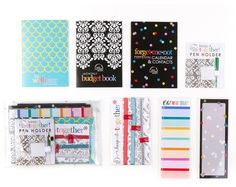 I would love to have the happy new you clutch from Erin Condren. Would make my planner even more organized and maybe my budget too! 2015 Planner, Planner Layout, Happy Planner, Planner Ideas, Plan For Life, Budget Book, Best Planners, Erin Condren Life Planner, Happy New