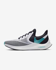 Nike Air Zoom Winflo 6 Women's Running Shoe. Nike.com Crossfit Challenge, Nike Running Shoes Women, Air Zoom, Blue Fashion, Fun Workouts, Designer Shoes, Nike Free, Nike Air, Sneakers Nike
