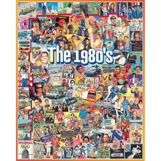 Shop Staples® for White Mountain Puzzle 24'' x 30'' Ultimate Trivia Jigsaw Puzzle, '' The Eighties ''. Enjoy everyday low prices and get everything you need for a home office or business. Get free shipping on orders of $49.99 or greater. Enjoy up