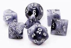Phantom Dice (Black) are the perfect choice for your favorite RPG adventures. This seven-piece dice...
