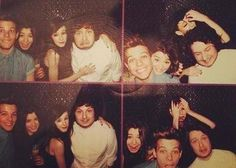 Louis and Eleanor! I don't know who the other couple is, but can we just appreciate how cute Lou and El are in the top righthand pic? I mean, seriously? Get married already! Cute Celebrity Couples, Cute Couples, Louis And Eleanor, Larry Shippers, Caroline Flack, Eleanor Calder, Five Guys, Perfect Together, The Girlfriends