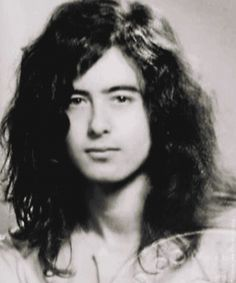 Jimmy Page's passport picture                              …