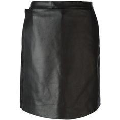 Givenchy apron front shorts (£2,325) ❤ liked on Polyvore featuring shorts, black, givenchy, black shorts and givenchy shorts