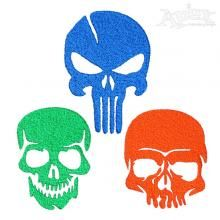 Skull Pack Embroidery Designs