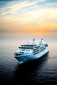 Silversea Cruise across the Middle East. Calm waters beneath a boat of energetic passengers. http://www.thomascook.com/cruise/luxury-cruising/silversea/?utm_medium=soc&utm_source=pinterest&utm_campaign=engage&utm_content=posting