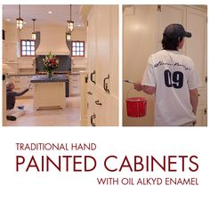 Hand Painted Cabinets