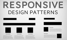 5 Really Useful Responsive Web Design Patterns | Design Shack - #rwd - #responsivedesign - www.eewee.fr