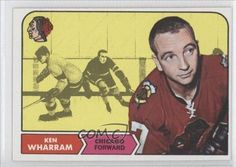 Ken Wharram (Hockey Card) 1968-69 Topps #22 by Topps. $2.00. 1968-69 Topps #22 - Ken Wharram