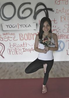 Yoga is part of my life.