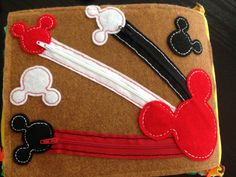 Zippers and Mickey Mouse!