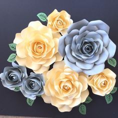 A personal favourite from my Etsy shop https://www.etsy.com/au/listing/450911314/paper-flower-rose-mini-backdroppaper