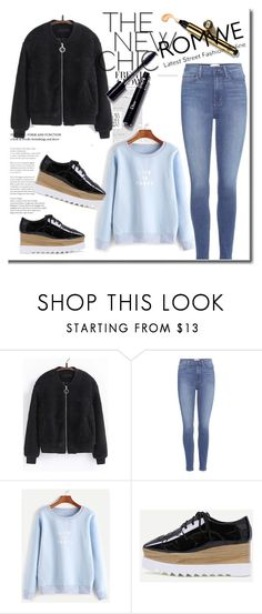 """Romwe 7"" by ajisa-ikanovic ❤ liked on Polyvore featuring Paige Denim"
