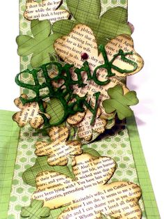Wow! Pop 'n Cuts Base Die decorated brilliantly! The Gentleman Crafter: Happy St. Patrick's Day...Card!