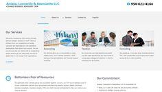 AcostaLeonardo.com CPA, Accounting firm in South Floida #webdesign #webdesigner #miamiwebdesigner