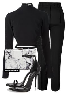 """""""Untitled #2587"""" by whokd ❤ liked on Polyvore featuring Emilio Pucci, Thierry Mugler, Balenciaga, Yves Saint Laurent, women's clothing, women, female, woman, misses and juniors"""